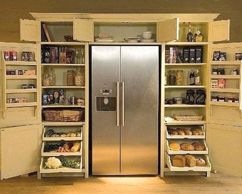 22 good Kitchen Pantry Cabinet Around Refrigerator – thaduder.com